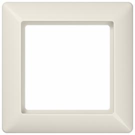 """JUNG серия """"А"""", АS 500Рамка 1 пост, цвет - слоновая кость, пластмасса"""