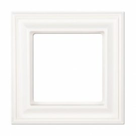 JUNG Рамка ECO profi DECO, 1 пост,  цвет - белый, пластмасса
